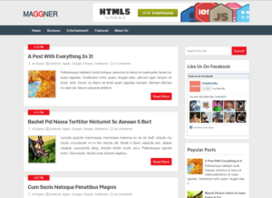 Premium and SEO Optimized Blogger Templates