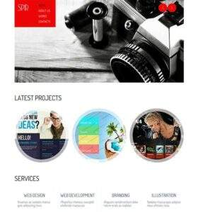 SPIR - Free Responsive HTML5 Template