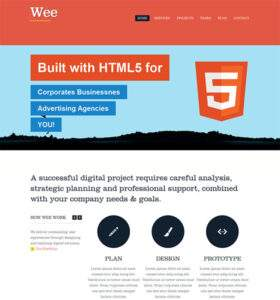Wee - Free Responsive HTML5 Template