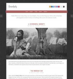 Serendipity - Free Responsive HTML5 Template