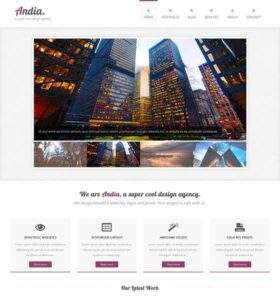 Andia - Free Responsive HTML5 Template