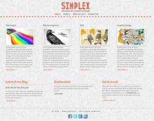Simplex - Free Responsive HTML5 Template
