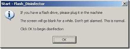 Flash Disinfector